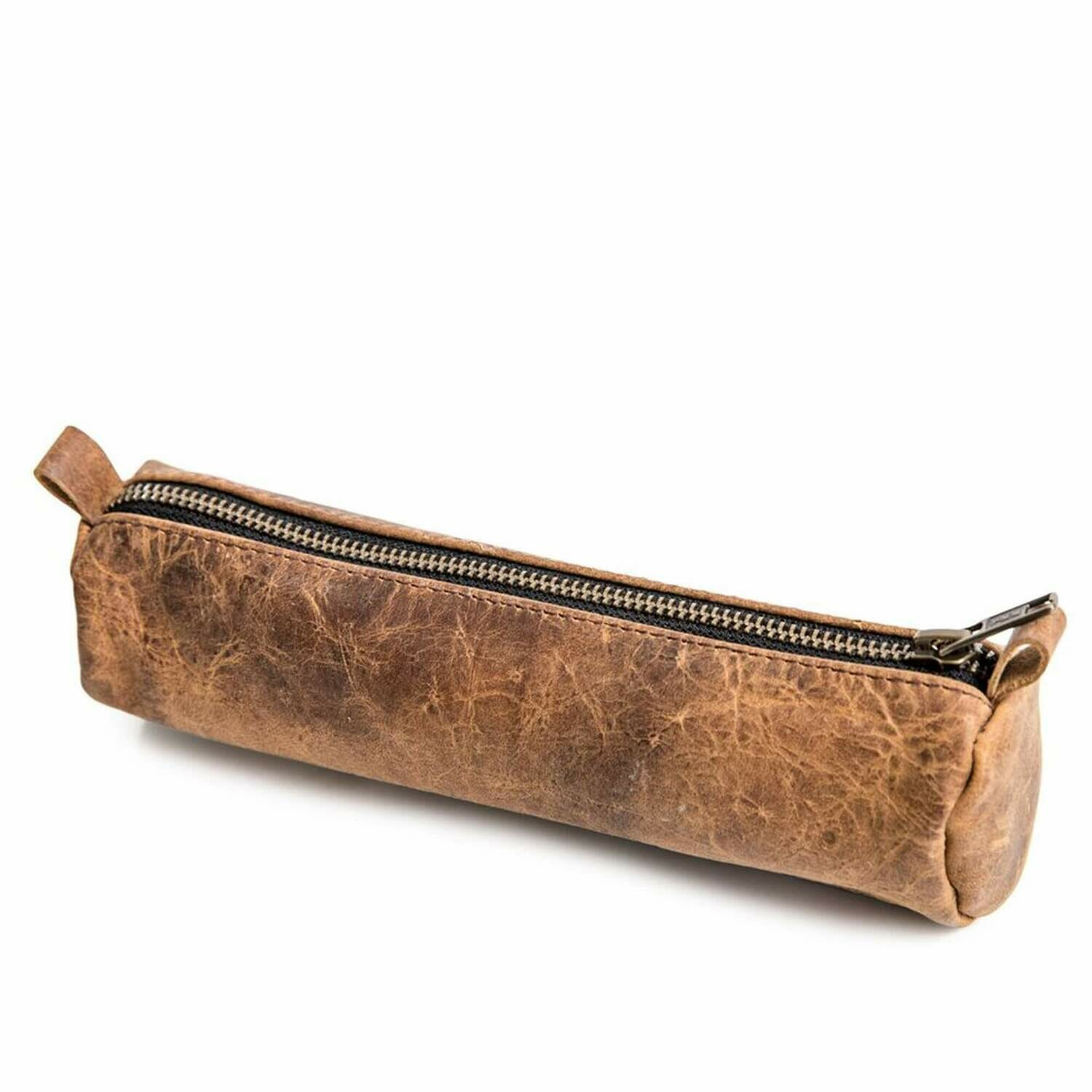 8x3 Leather Pencil Case /CA121