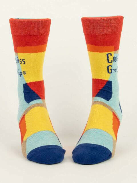Cool Ass Grandpa Men's Socks /877