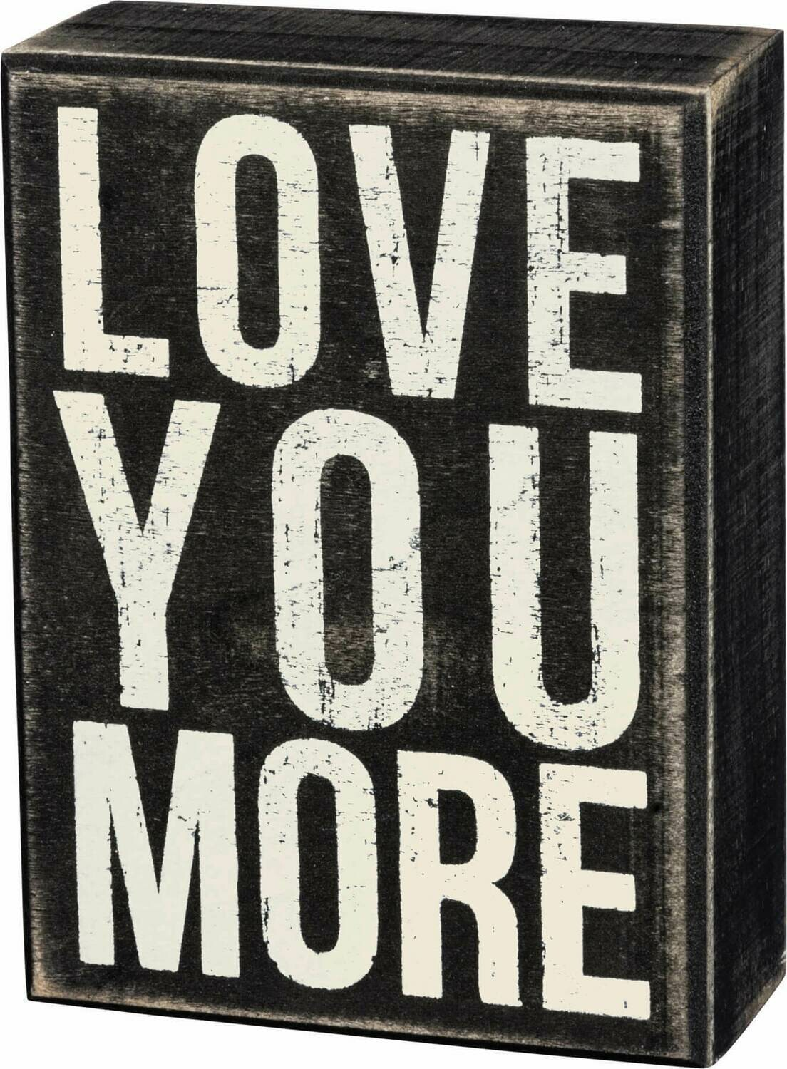 Love You More/18773