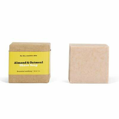 Almond & Oatmeal Shave Soap