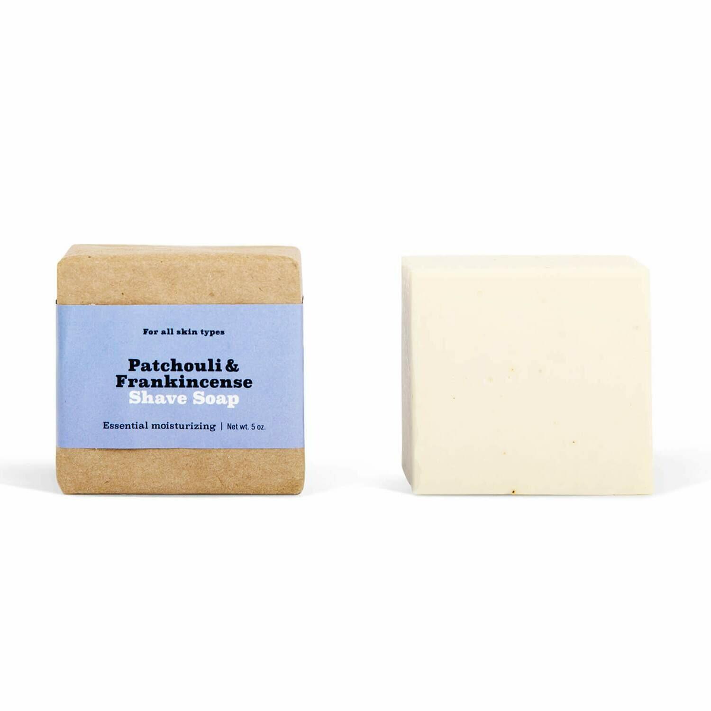 Patchouli & Frankincense Shave Soap