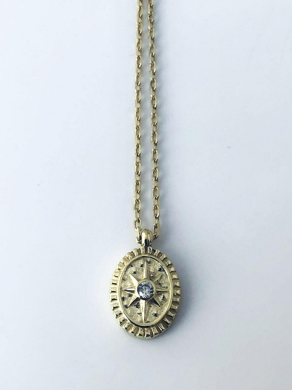 Circle Starburst necklace
