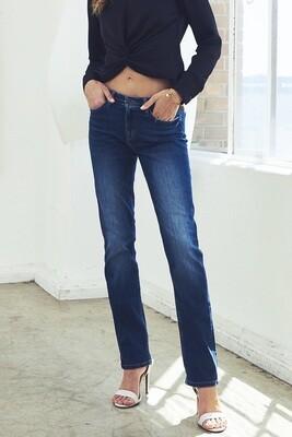 Mid-rise Straight Leg Jean
