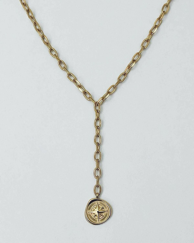 """16""""  Y Compass Necklace"""