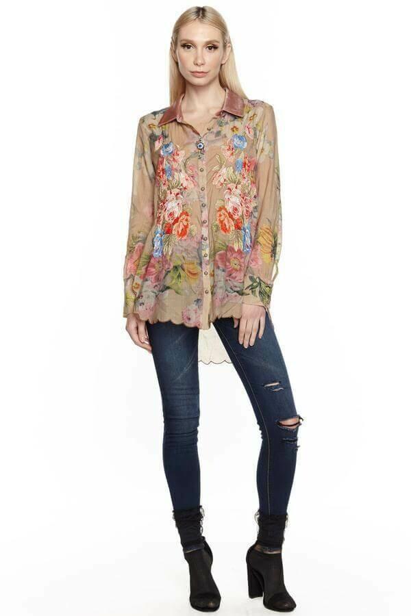 Aratta button shirt