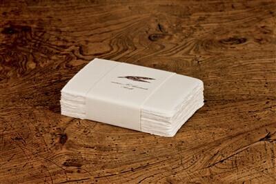 "100 Boxed Amalfi Calling Cards 4""x2.75"""