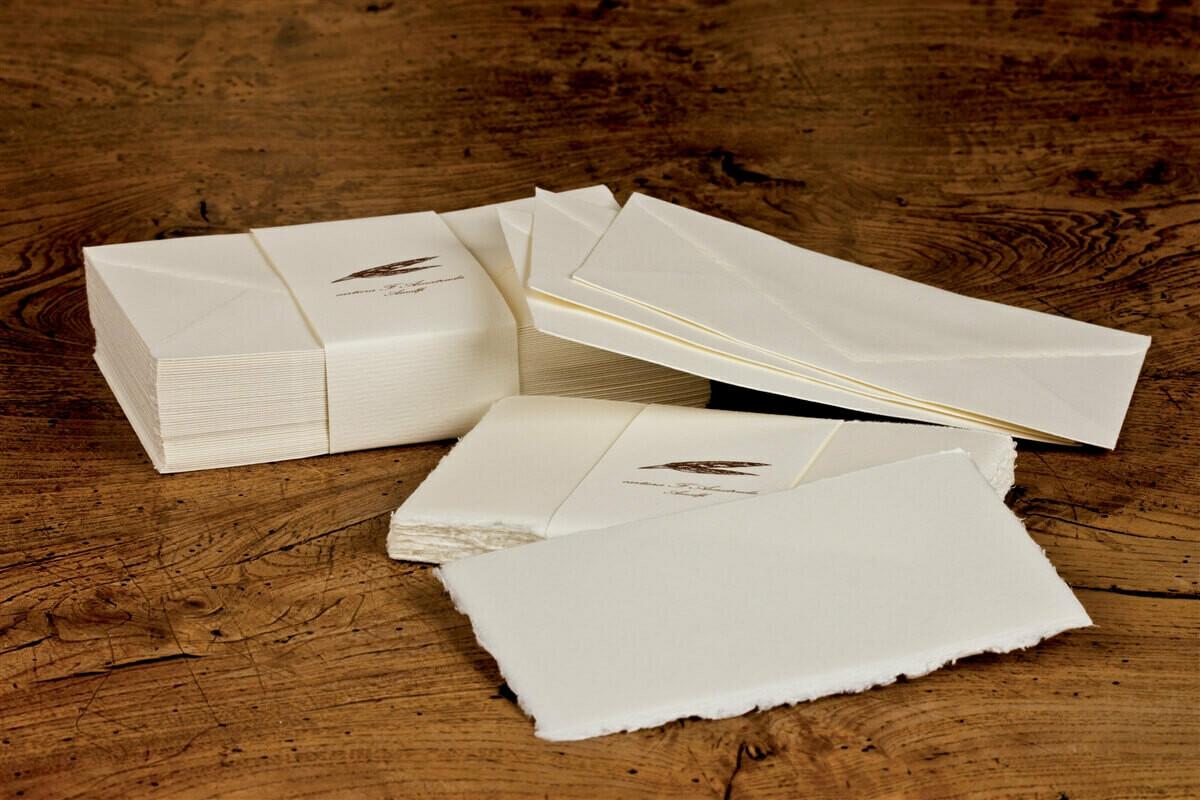 """Amalfi Boxed 50 Flat Cards w/Envelopes 5.25""""x3.5"""""""