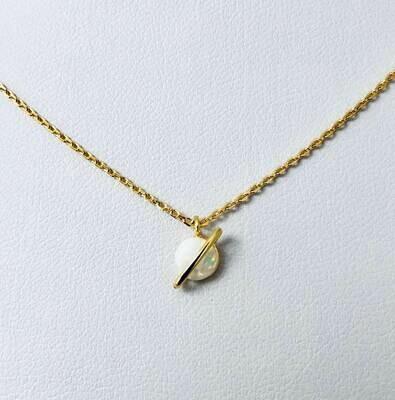 Opal Planet Necklace