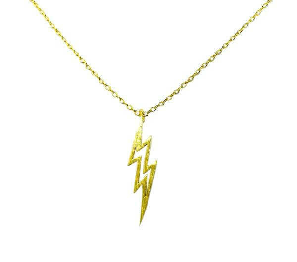 Lightning rod necklace