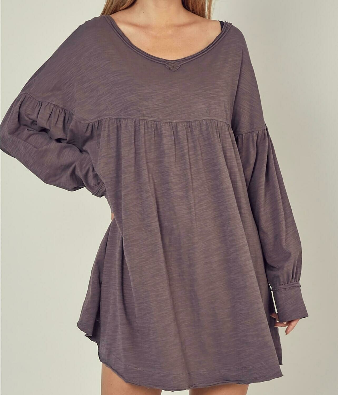 Flowy T-shirt Dress