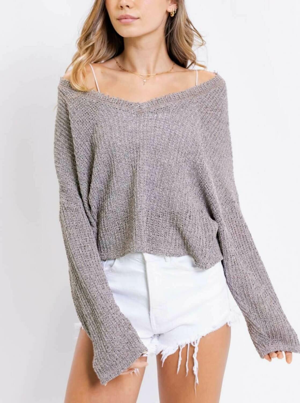 Mocha Loose Fit Sweater