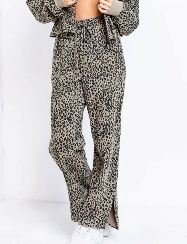 Cheetah Sweatpants