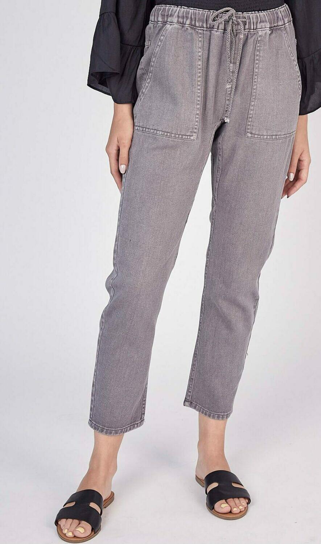 Crop Denim Pants