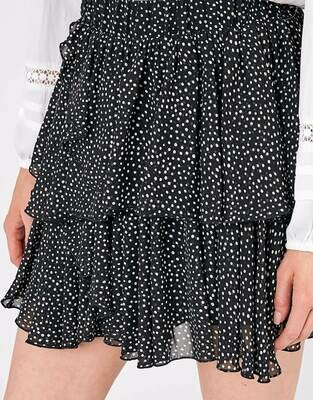 Black Dot Skirt