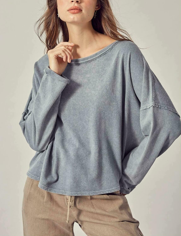 Open Back Sweatshirt