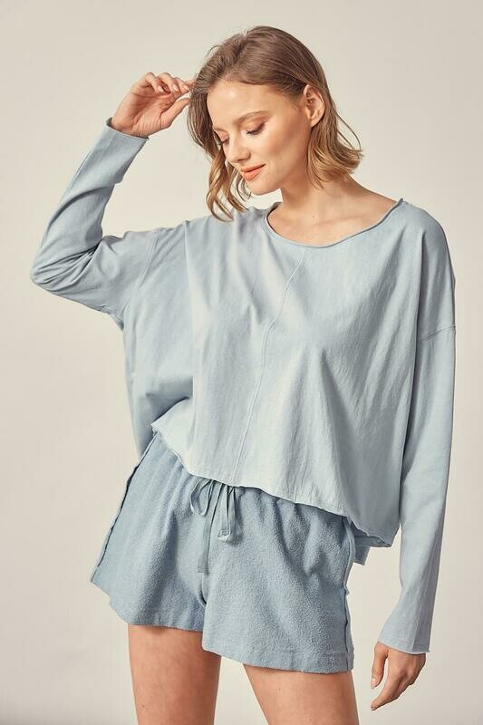 Oversized T-shirt Top