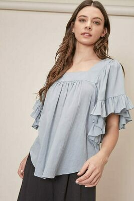 Frill Sleeve Top