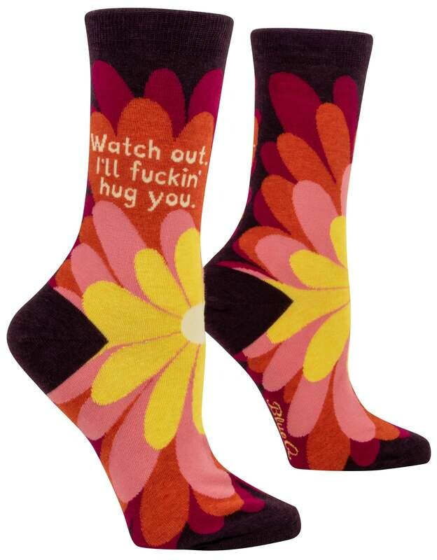 I'll F**king Hug You Crew Socks