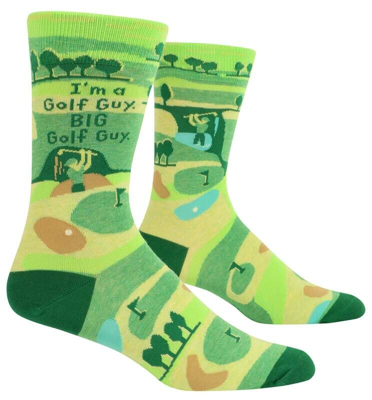 I'm A Golf Guy Men's Socks