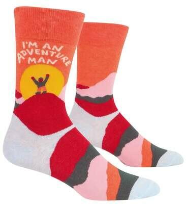 Adventure Man Men's Socks /883