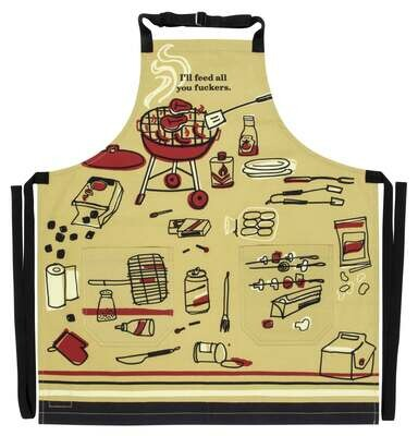 Feed You F**kers Apron