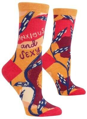 Anxious And Sexy Crew Socks