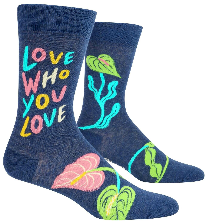 Love Who You Love Men's Socks /885