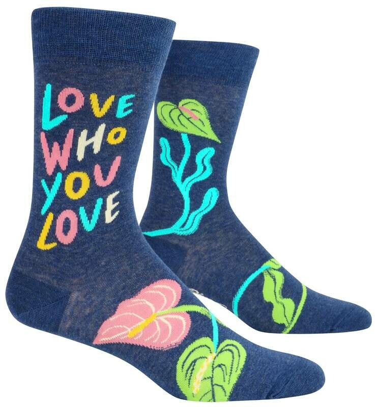 Love Who You Love Men's Socks /885