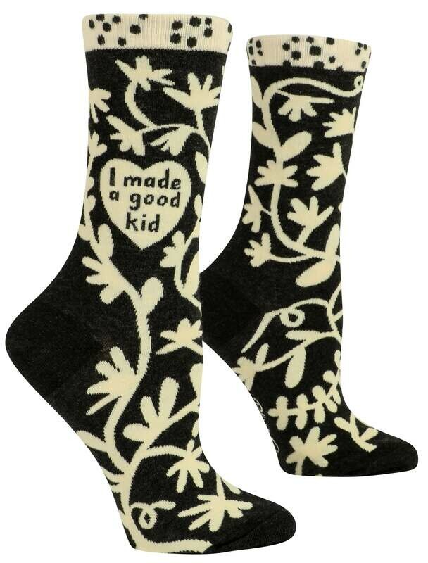 I Made A Good Kid Crew Socks