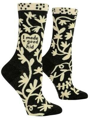I Made A Good Kid Crew Socks