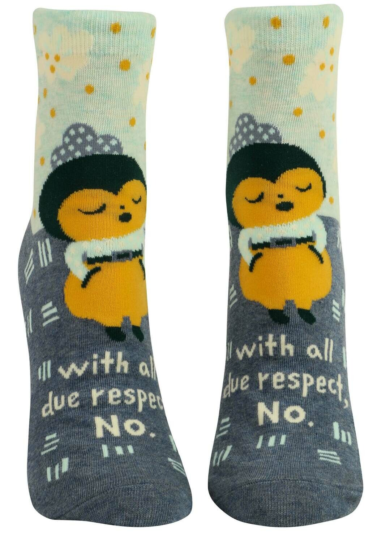 All Due Respect Ankle Socks /664