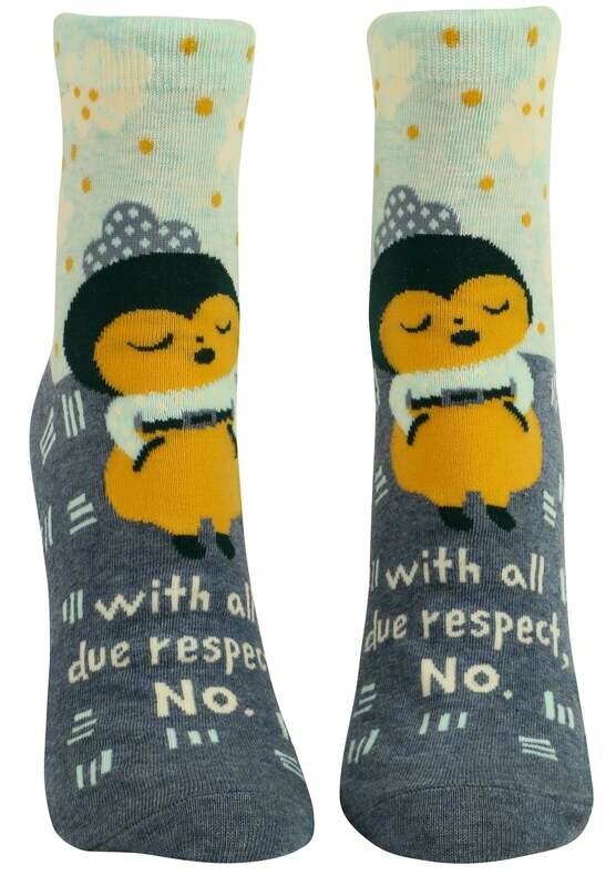 All Due Respect Ankle Socks /664