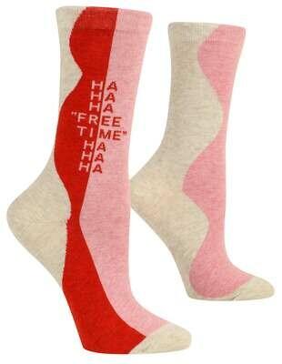Free Time Crew Socks