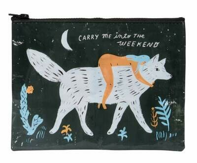 Carry Me Into Zip Pouch
