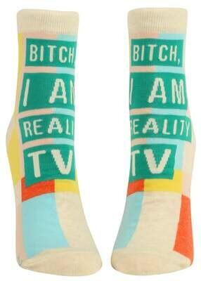 I Am Realty TV Ankle Socks /663