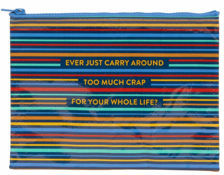 Too Much Zip Pouch /274