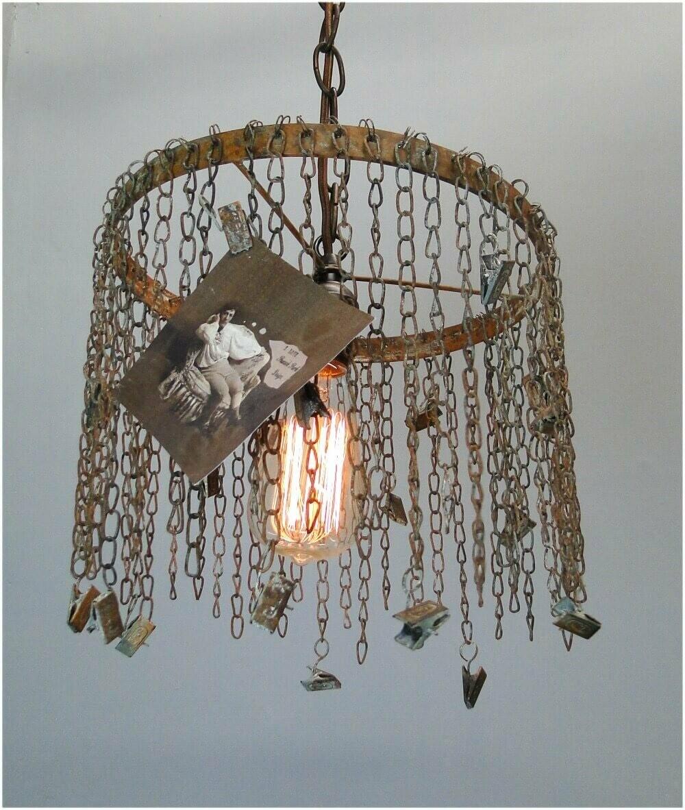 Hanging Clip Shade Lamp