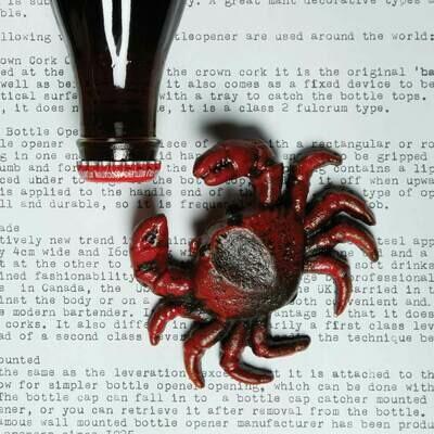 Crab Bottle Opener