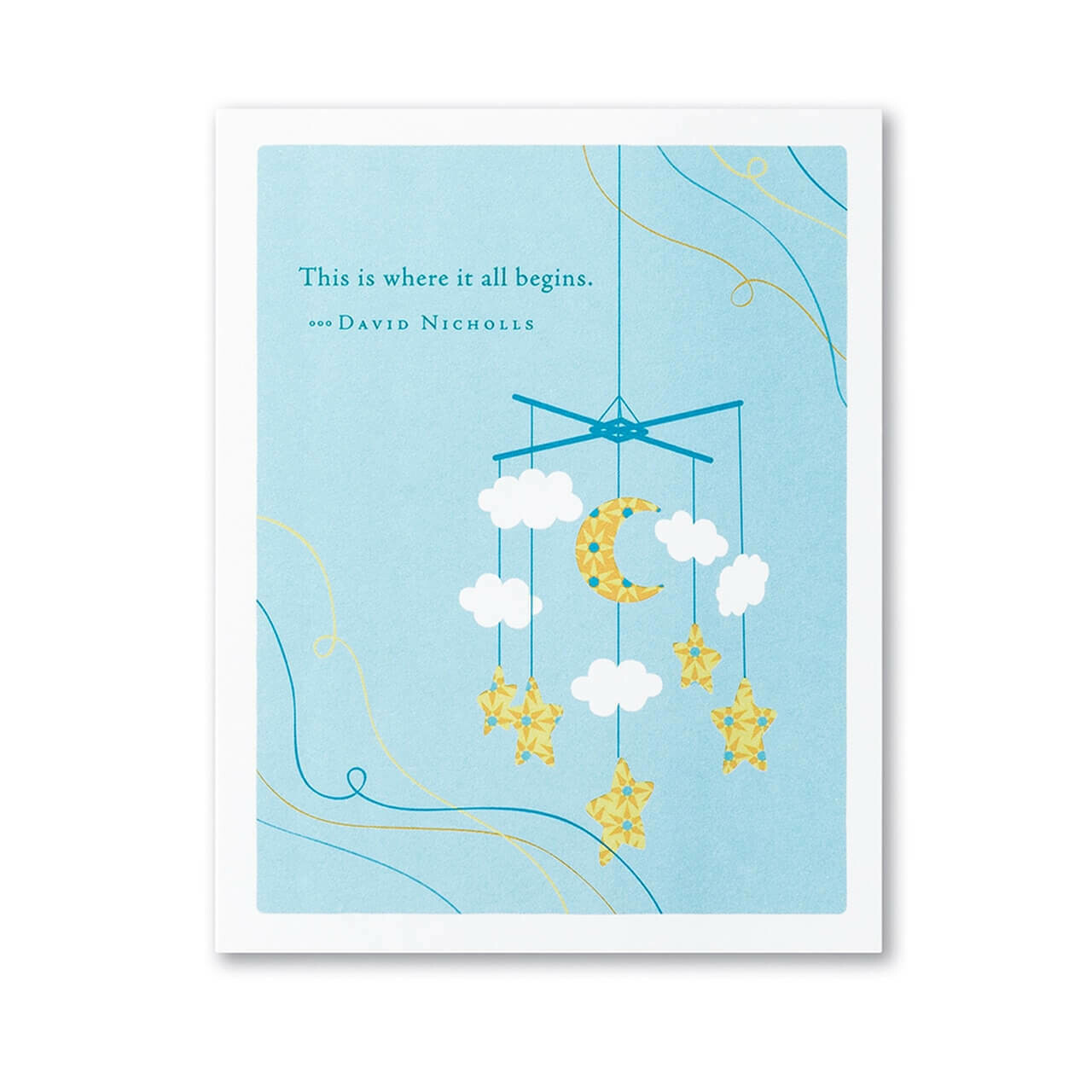 New Baby Card Sku6366