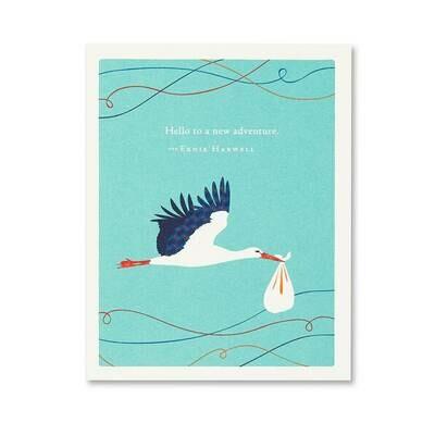 New Baby Card Sku6857