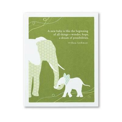 New Baby Card Sku5751