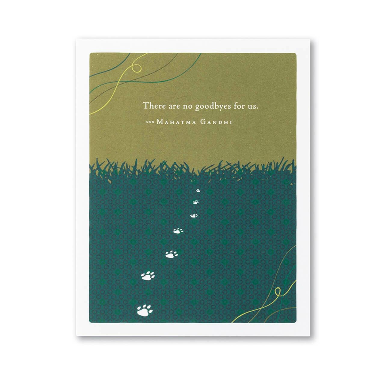 Pet Sympathy Card Sku6538
