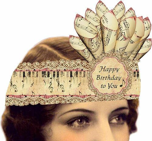 Paper Crown,Happy Birthday