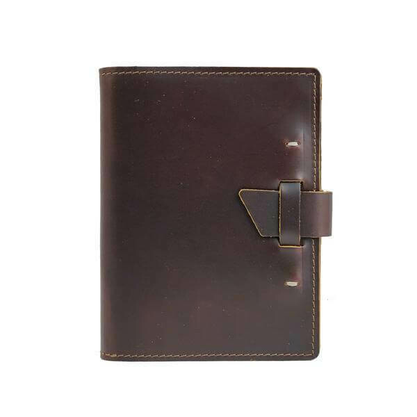 192 page Leather Notebook , Refillable