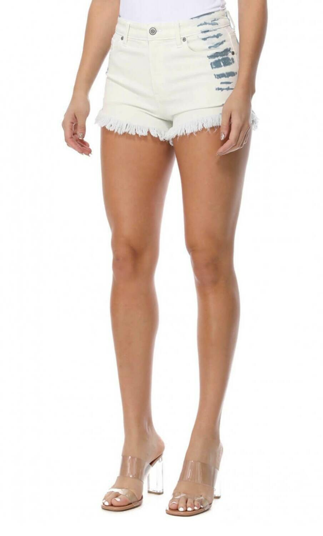 Lulu High Rise Cut Off Shorts