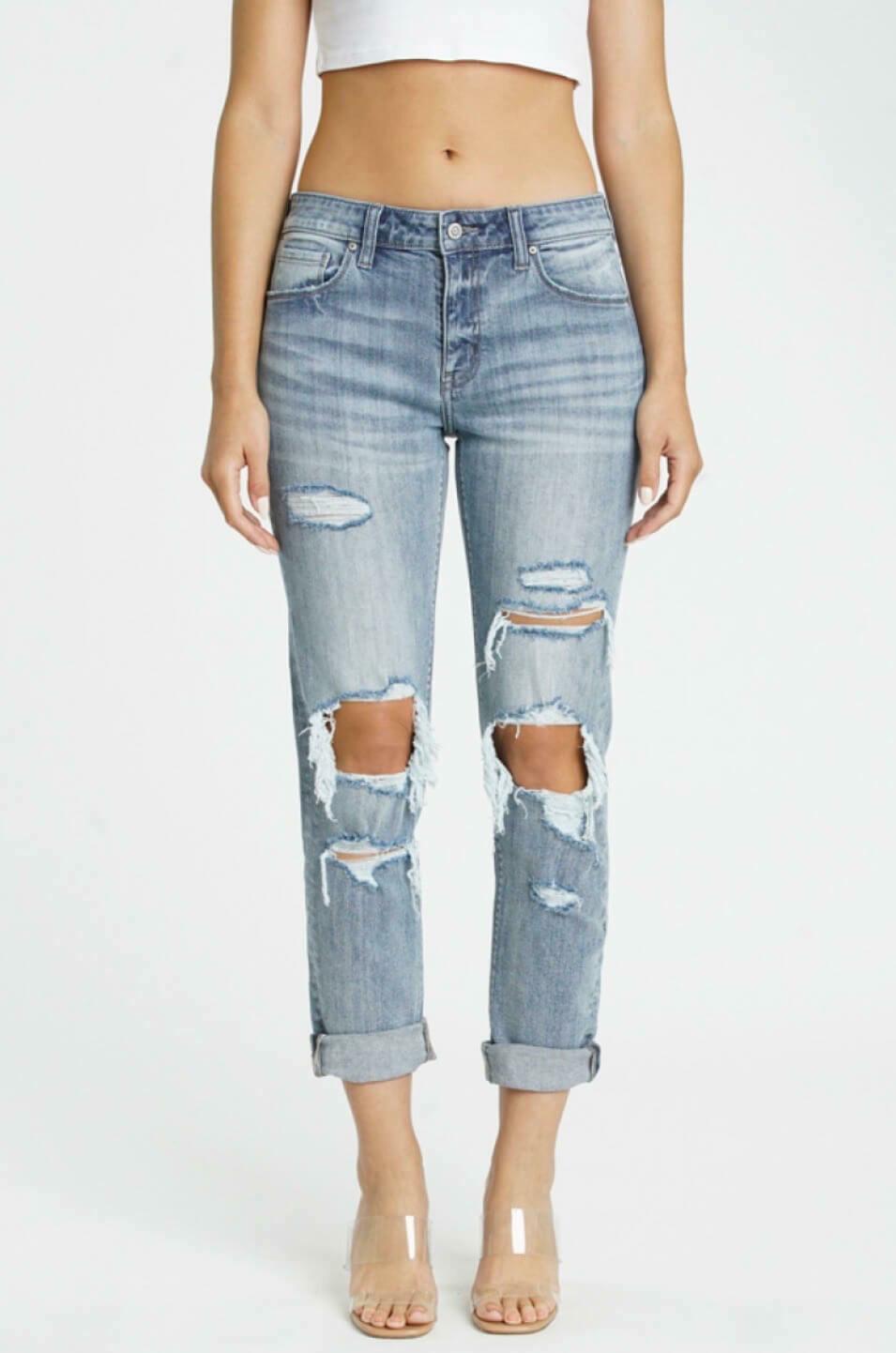 Frankie Low-Rise Jeans