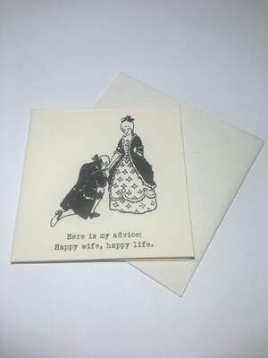 Wedding,Anniversary & Engagements-Mini Card & Envelope