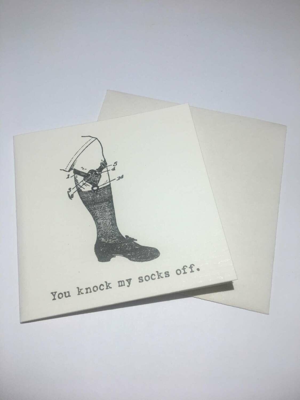 mini card-Socks