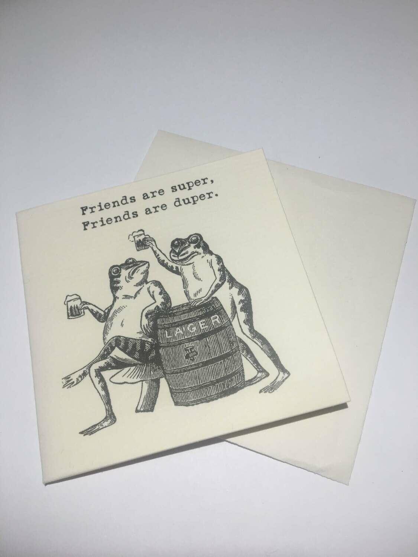 Friendship-Mini Card & Envelope