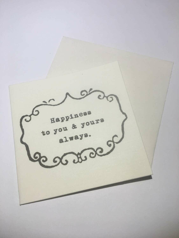 mini card-Happiness /514